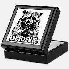 Excellent Raccoon Keepsake Box