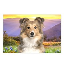 meadow(oval) Postcards (Package of 8)
