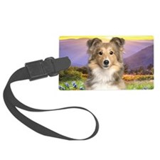 meadow(oval) Luggage Tag