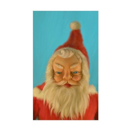 Vintage Santa Doll Painting Decal by Admin_CP954213