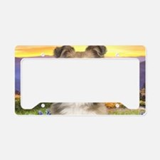 meadow(laptop) License Plate Holder