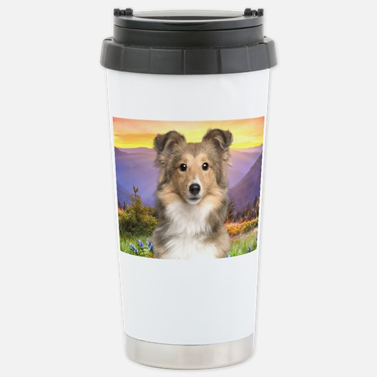 meadow(laptop) Stainless Steel Travel Mug
