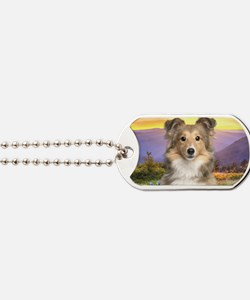 meadow(laptop) Dog Tags