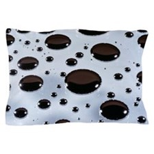 Mercury droplets Pillow Case
