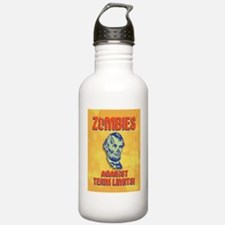 lincoln-zombie-CRD Water Bottle