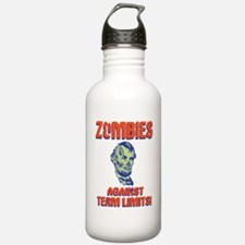 lincoln-zombie-T Water Bottle