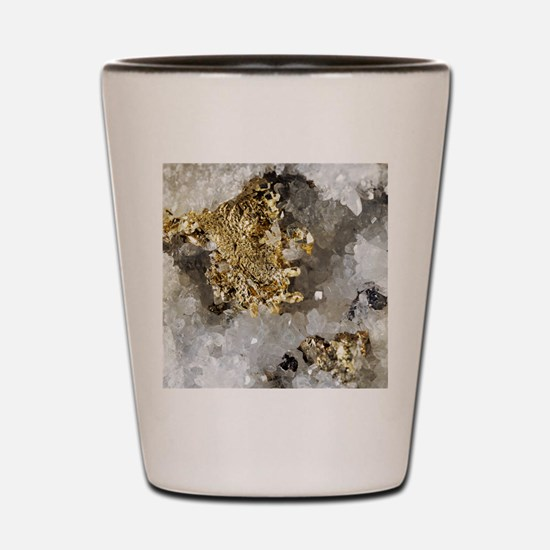 Native gold Shot Glass