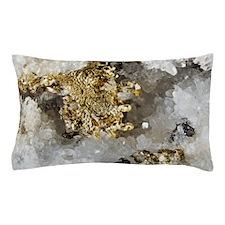 Native gold Pillow Case