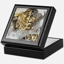 Native gold Keepsake Box