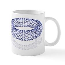 Nanotube technology, computer artwork Mug