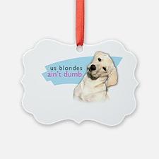 blondes Ornament