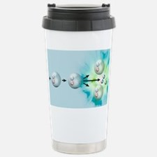 Nuclear fission reactio Stainless Steel Travel Mug