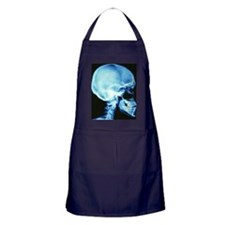 Skull X-ray Apron (dark)