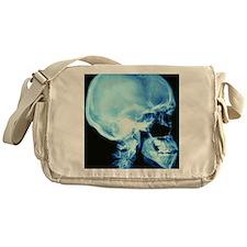 Skull X-ray Messenger Bag