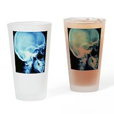 Skull X-ray Drinking Glass