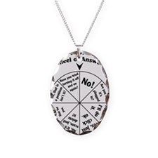IT Professional Wheel of Answe Necklace Oval Charm
