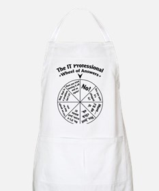 IT Professional Wheel of Answers Apron