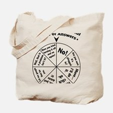 IT Professional Wheel of Answers Tote Bag
