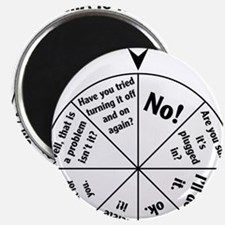 IT Professional Wheel of Answers Magnet