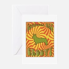 Groovy Cardigan Greeting Cards (Pk of 10)