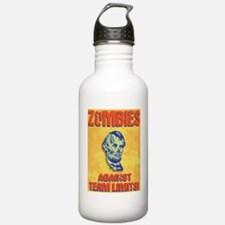 lincoln-zombie-LG Water Bottle