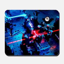 Quantum cryptography equipment Mousepad