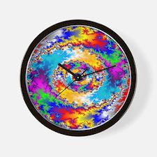 Mandelbrot fractal Wall Clock