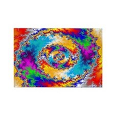 Mandelbrot fractal Rectangle Magnet