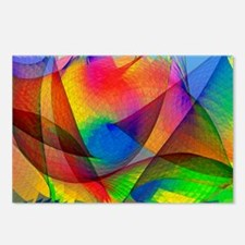 Optical pattern Postcards (Package of 8)