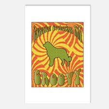 Groovy Caucasian Postcards (Package of 8)
