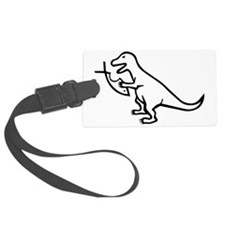 T-Rex and Religion Luggage Tag