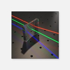 "Refraction Square Sticker 3"" x 3"""