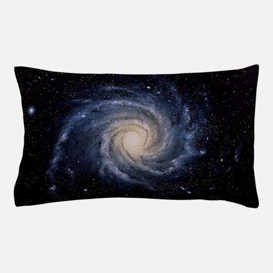 Spiral galaxy M74 Pillow Case