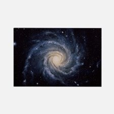 Spiral galaxy M74 Rectangle Magnet