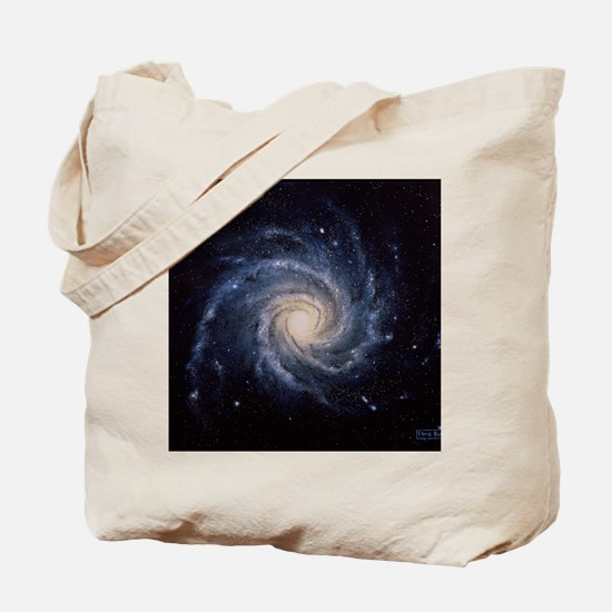 Spiral galaxy M74 Tote Bag