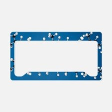 Rubber and gutta-percha molec License Plate Holder