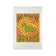 Groovy Cesky Rectangle Magnet (100 pack)