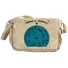 IT Wheel of Answers Messenger Bag