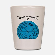 IT Wheel of Answers Shot Glass