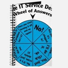 IT Wheel of Answers Journal