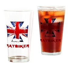 English Ratbiker Drinking Glass