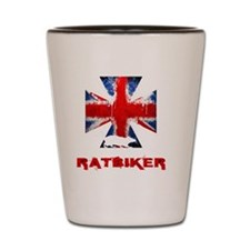 English Ratbiker Shot Glass