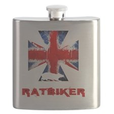 English Ratbiker Flask