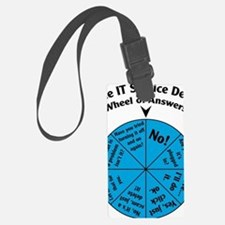 IT Wheel of Answers Luggage Tag