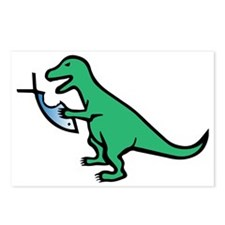 Atheism and T-Rex Postcards (Package of 8)