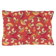 Mushroom_Red_Large Pillow Case