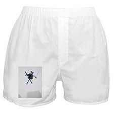 Freestyle Skiing Boxer Shorts