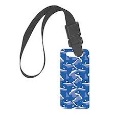 Orca_Blue_Large Luggage Tag