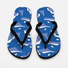 Orca_Blue_Large Flip Flops
