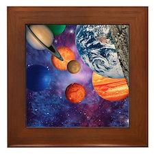 Solar system Framed Tile
